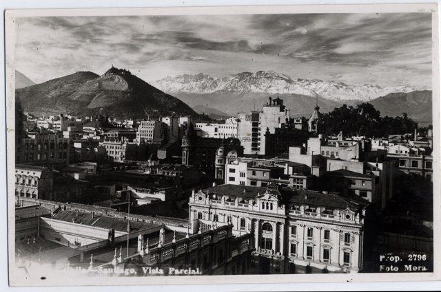 Chile – Santiago, Vista Parcial.