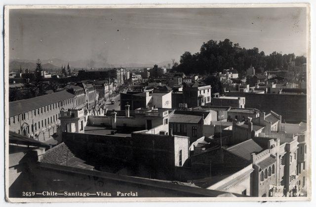Chile – Santiago – Vista parcial.