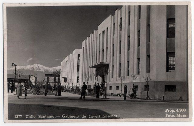 Chile, Santiago – Gabinete de investigaciones.