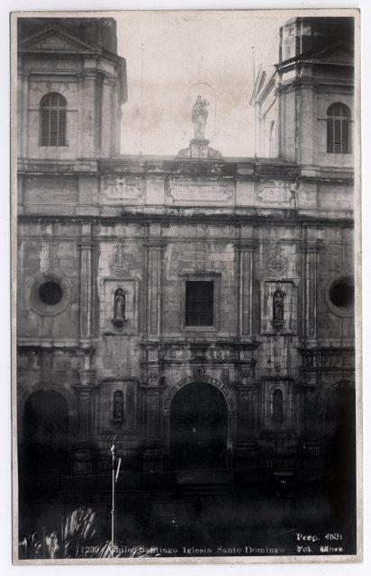 Chile, Santiago Iglesia Santo Domingo