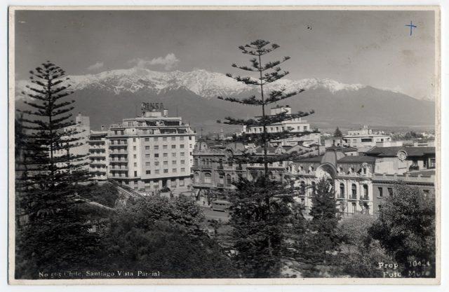 Chile, Santiago Vista Parcial