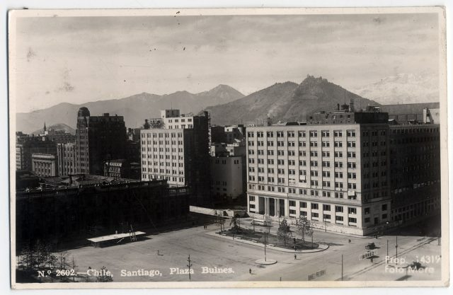 Santiago, Santiago, Plaza Bulnes.