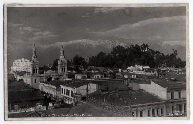 Chile Santiago Vista Parcial