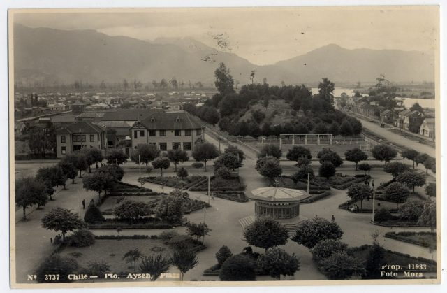 Chile – Pto. Aysén, Plaza