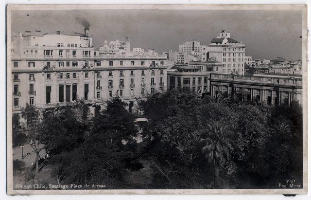 Chile, Santiago Plaza de Armas