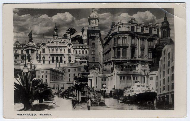 Valparaíso. Mosaico.