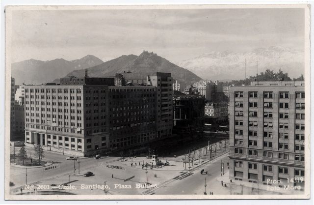 Chile, Santiago, Plaza Bulnes