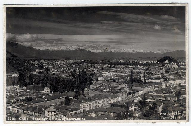 Chile – Santiago – Vista Panorámica