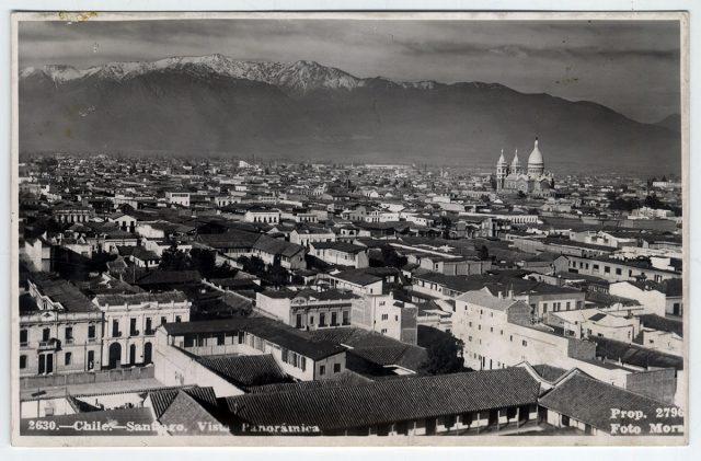 Chile – Santiago, Vista Panorámica.