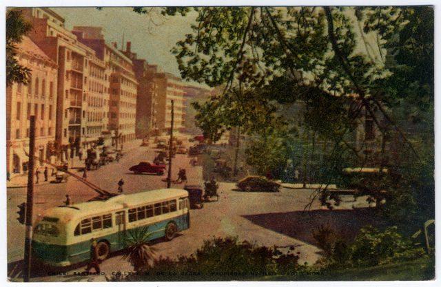 Chile: Santiago, Calle J. M. de la Barra.