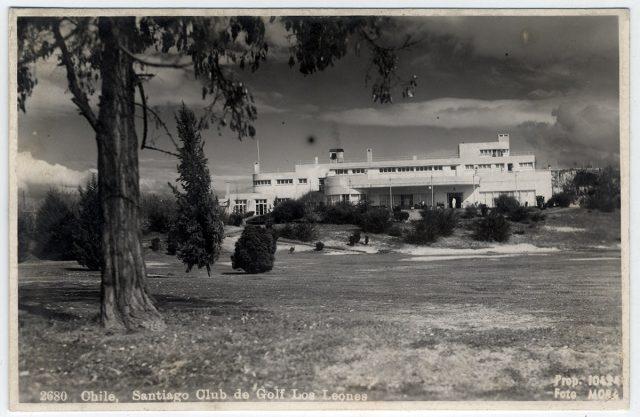 Chile, Santiago Club de Golf Los Leones.