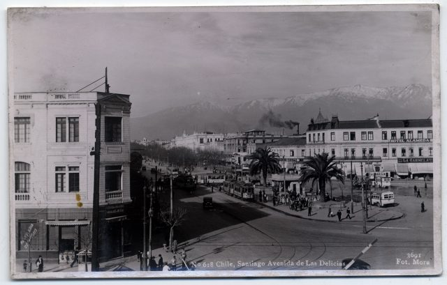 Chile, Santiago Avenida de Las Delicias.