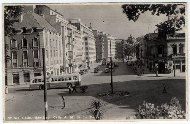 Chile – Santiago, Calle J. M. de la Barra.