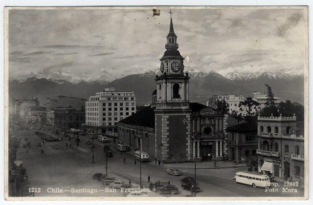 Chile – Santiago – San Francisco.