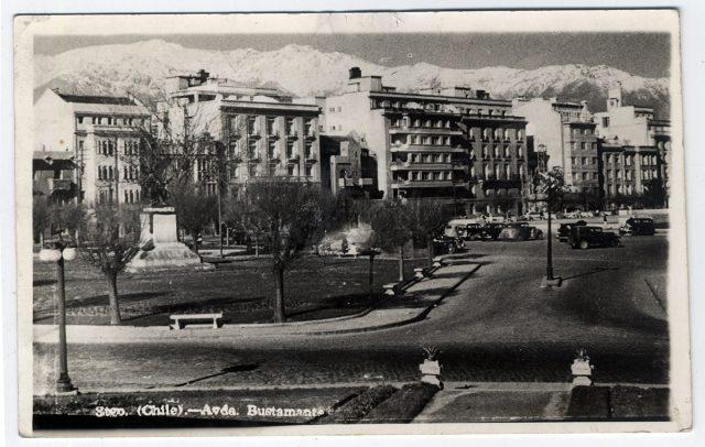 Stgo. (Chile) – Avda. Bustamante.