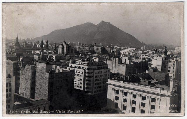 Chile, Santiago – Vista parcial.