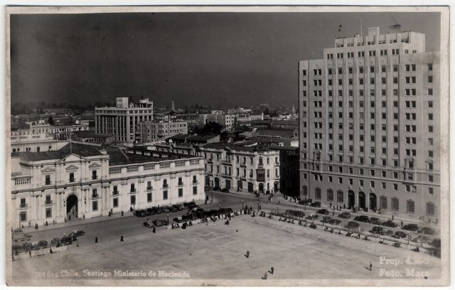 Chile, Santiago Ministerio de Hacienda