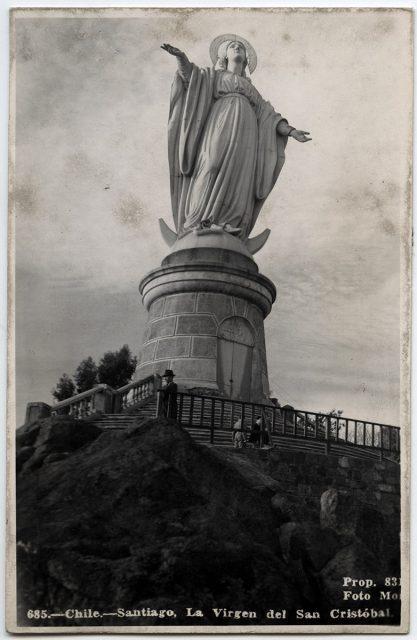 Chile, Santiago La Virgen del San Cristóbal