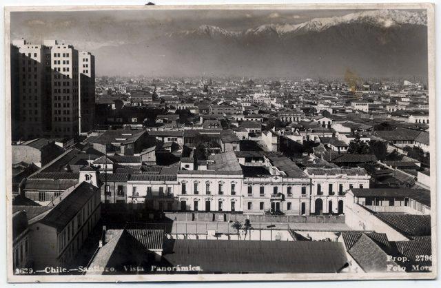 Chile – Santiago Vista Panorámica.