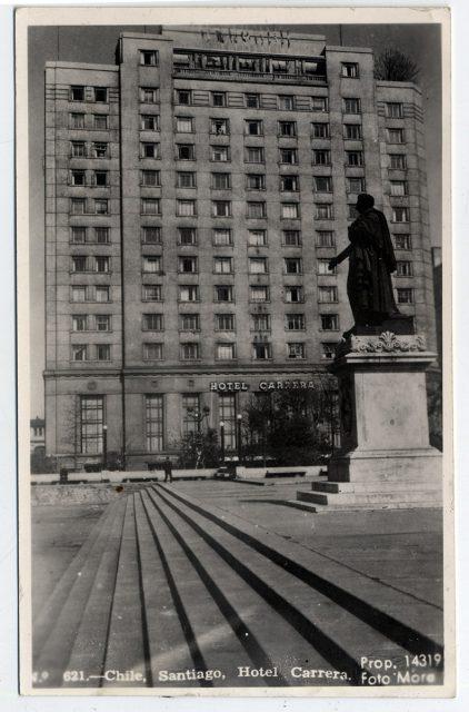 Chile, Santiago, Hotel Carrera.