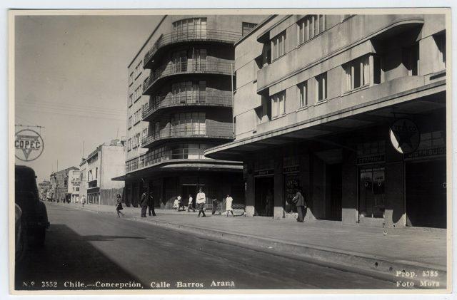 Chile – Concepción ,Calle Barros Arana