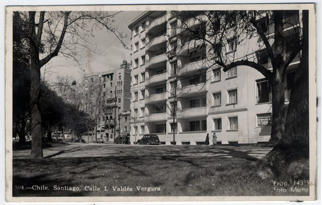 Chile. Santiago, Calle I. Valdés Vergara