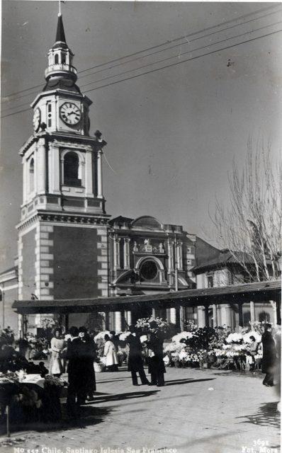 Chile, Santiago Iglesia San Francisco