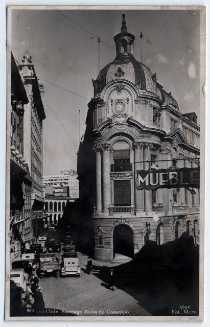 Chile, Santiago Bolsa de Comercio.
