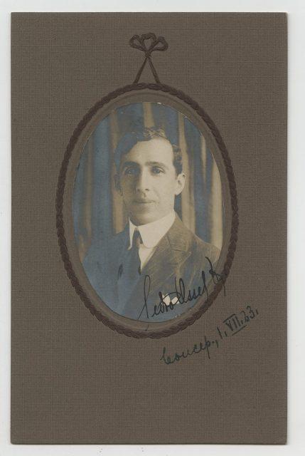 Retrato de Pedro Osses.