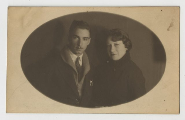 Retratos de Elena y Tullio.
