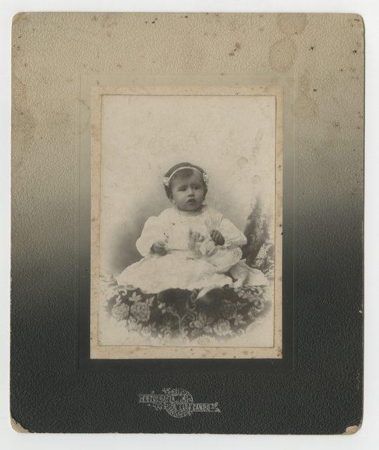 Retrato de Cesaria Toloza Cubillos.