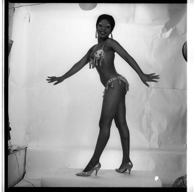 Yuyú da Silva, bailarina brasileña