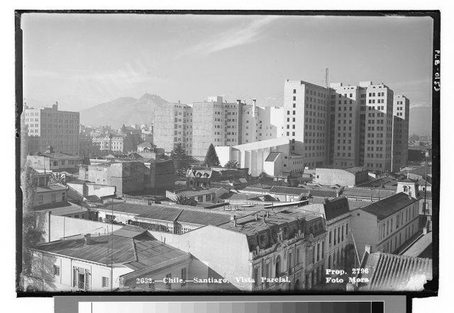 Chile- Santiago, Vista Parcial