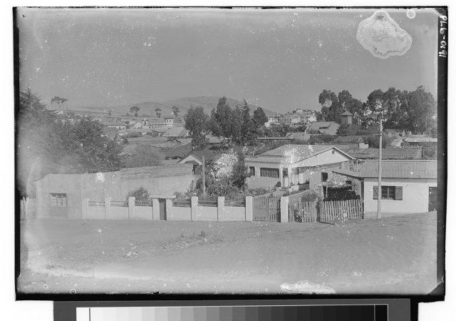 Vista de un pueblo