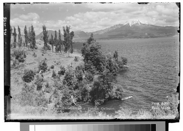 Chile. Lago LLanquihue y Volcán Calbuco