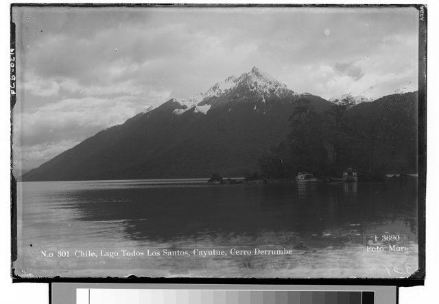 Chile, Lago Todos los Santos, Cayutue, Cerro Derrumbe
