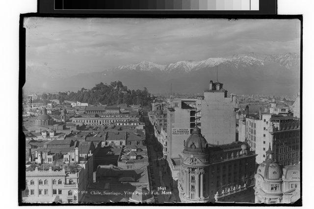 Chile, Santiago, Vista Parcial