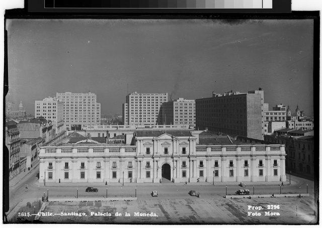 Chile – Santiago, Palacio de la Moneda.