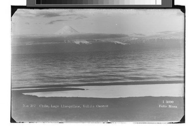Chile, Lago Llanquihue, Volcán Osorno.