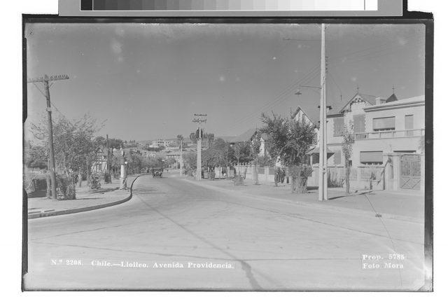 Chile – Llolleo. Avenida Providencia.