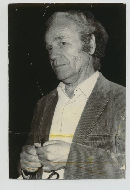 Retrato de Nicanor Parra