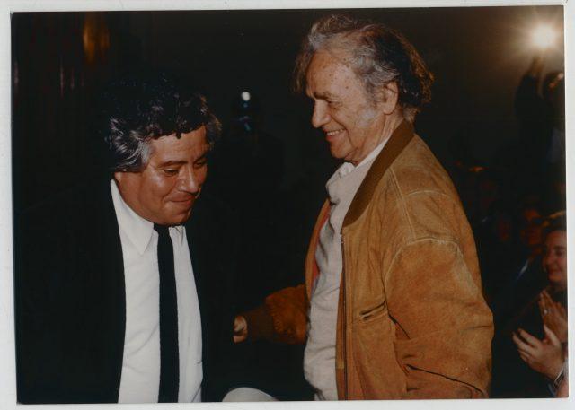 Nicanor Parra con Alfonso Castagnon