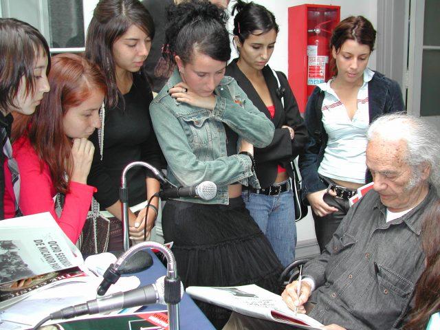 Bienvenida a alumnos de Humanidades (2005)