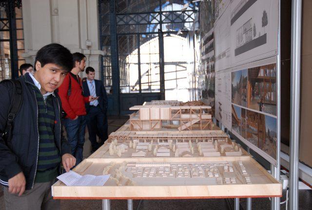 Premiación Concurso arquitectura en madera en la Estación Mapocho