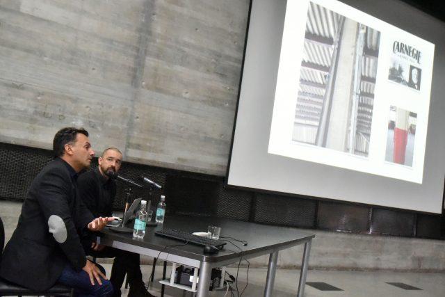Ciclo de charlas arquitectura Edificio de Extensión Faad