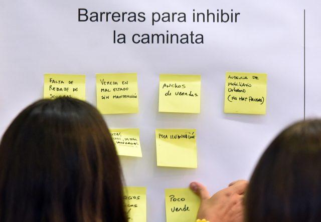 Taller de Barrios caminables para Chile