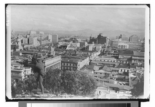 Chile – Santiago, Vista Panorámica