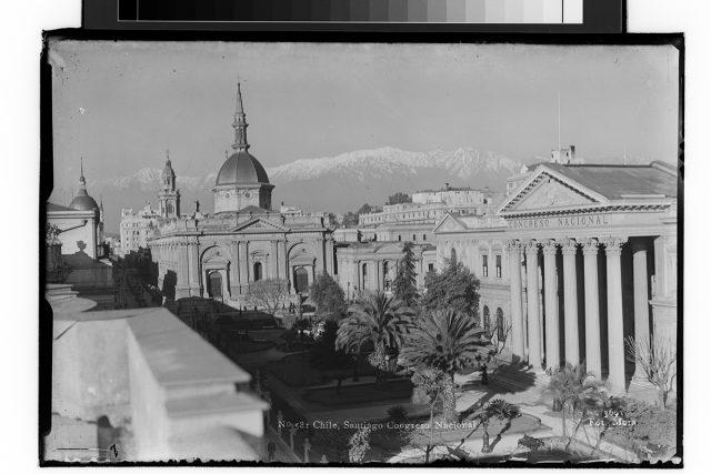 Chile, Santiago Congreso Nacional.