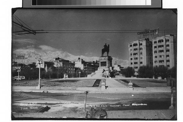 Chile – Santiago, Plaza Baquedano