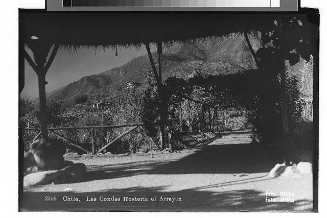 Chile, Las Condes Hostería el Arrayan.